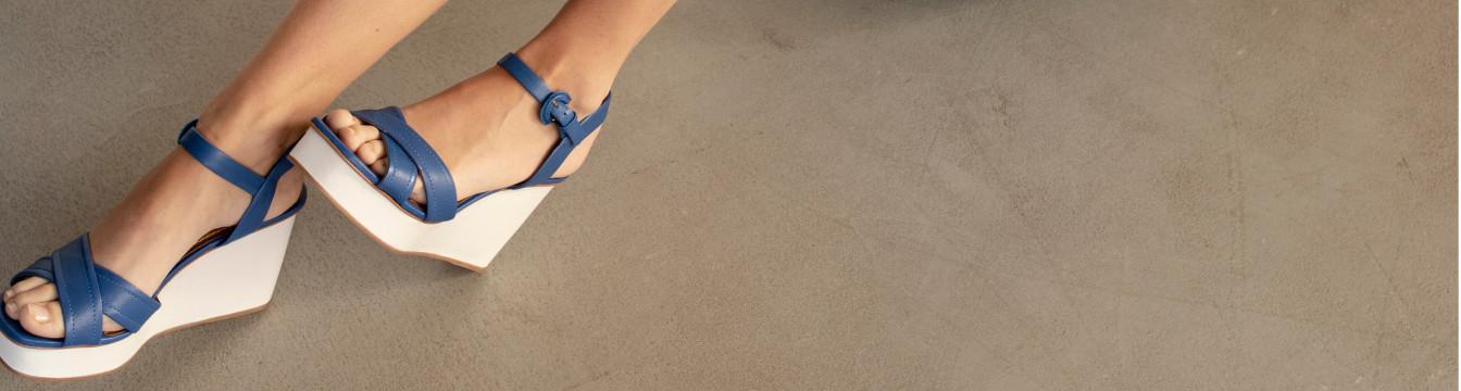 Chaussures compensées pour femme - Roberto Durville